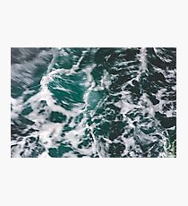 Perfect Ocean Waves Photographic Print