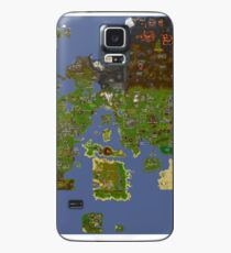 Old World Map Case/Skin for Samsung Galaxy