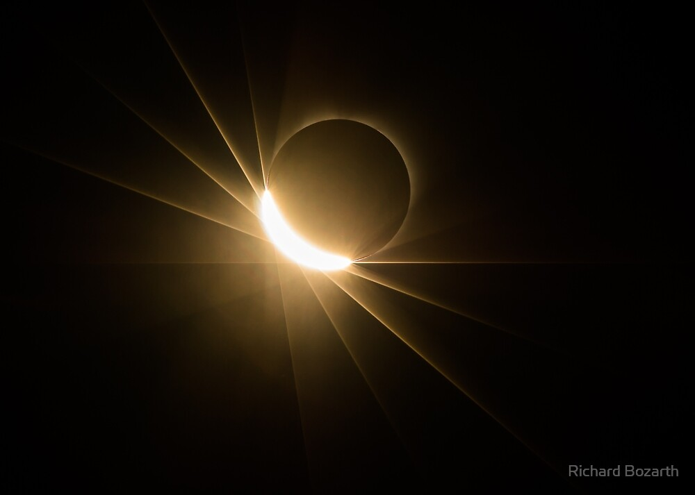 Eclipse 001 by Richard Bozarth