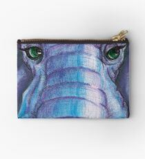 Elephant Face Studio Pouch