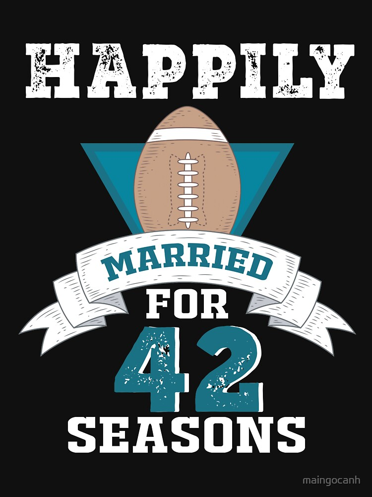 Funny T Shirt For Couples Cool 42nd Wedding Anniversary Gift For