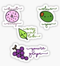 Food Puns  Sticker