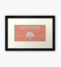 Palestine Olive Tree Framed Print