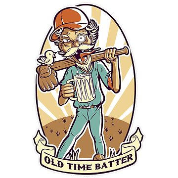 Old time batter by jairodota10