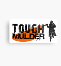 Tough Mulder Metal Print