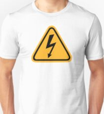 Electricity flash Slim Fit T-Shirt