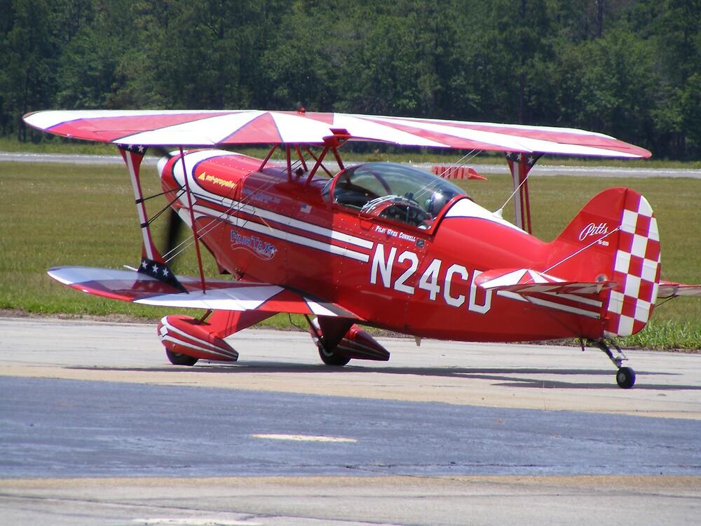 red plane by jasonedenfield