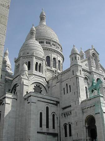 Sacre Coeur cathedral, Paris by chord0