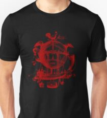 Red Round Blimp Zeppelin T-Shirt