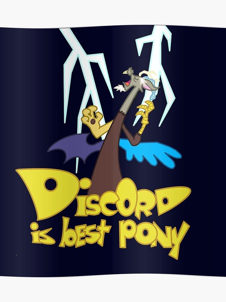 BEST PONY - Discord - MLP FiM - My Little Pony | Poster
