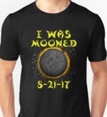 Premium I Was Mooned I Survived Total Solar Eclipse 2017 T-Shirt