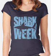 Shark Week Women's Fitted Scoop T-Shirt