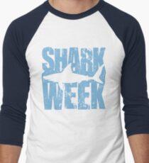 Camiseta ¾ bicolor para hombre Semana de tiburones