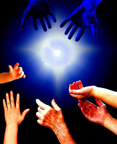 God's helping hands by CheyenneLeslie Hurst