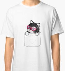 Sweet Kitty with hipster glasses Classic T-Shirt