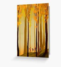 arbores loqui latine Greeting Card