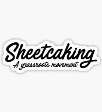 Sheetcaking  Sticker