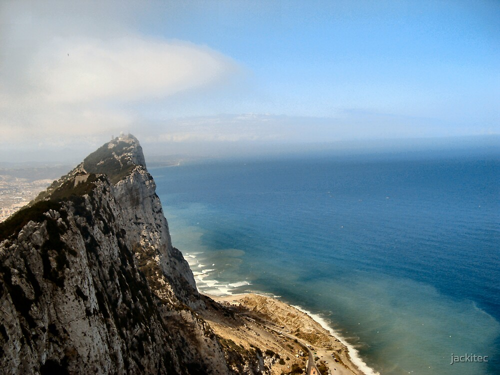 Top of Gibraltar by jackitec