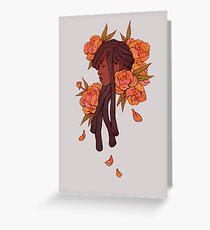 Autumn Bloom Greeting Card