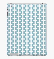 White cross (request other colours) iPad Case/Skin