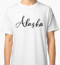 Alaska (AK; Alaska) Classic T-Shirt