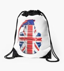 British grenade Drawstring Bag