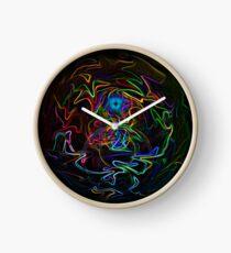 Rainbow Bubble Clock