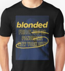 blonded Panorama Blue (no globe) T-Shirt