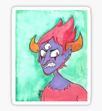 Angry Demon Sticker