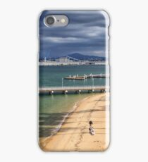 Rain Clouds over San Diego iPhone Case/Skin