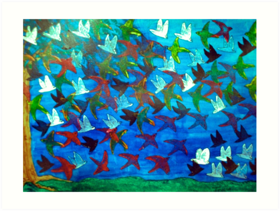 One Hundred Birds by TriciaCurry