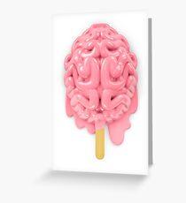 Popsicle brain melting Greeting Card