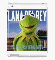 Kermit Del Rey  iPad Case/Skin