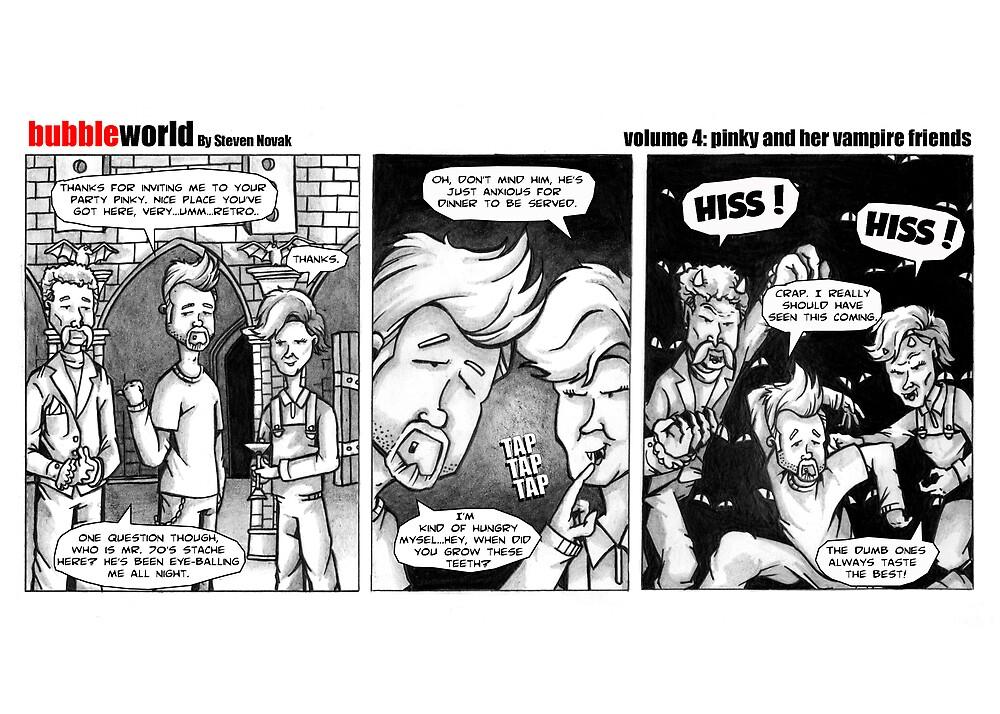 Bubbleworld Volume 4 by Steven Novak