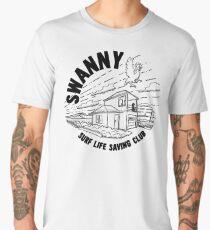 Swanny 'On Patrol' - White Edition Men's Premium T-Shirt