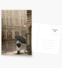 It's raining outside Postcards