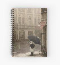 Cuaderno de espiral Está lloviendo afuera