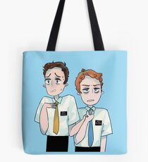 those nervous boys Tote Bag