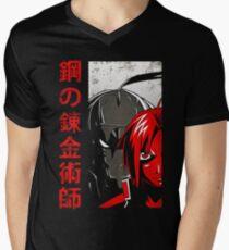 Fullmetal Alchemist Men's V-Neck T-Shirt