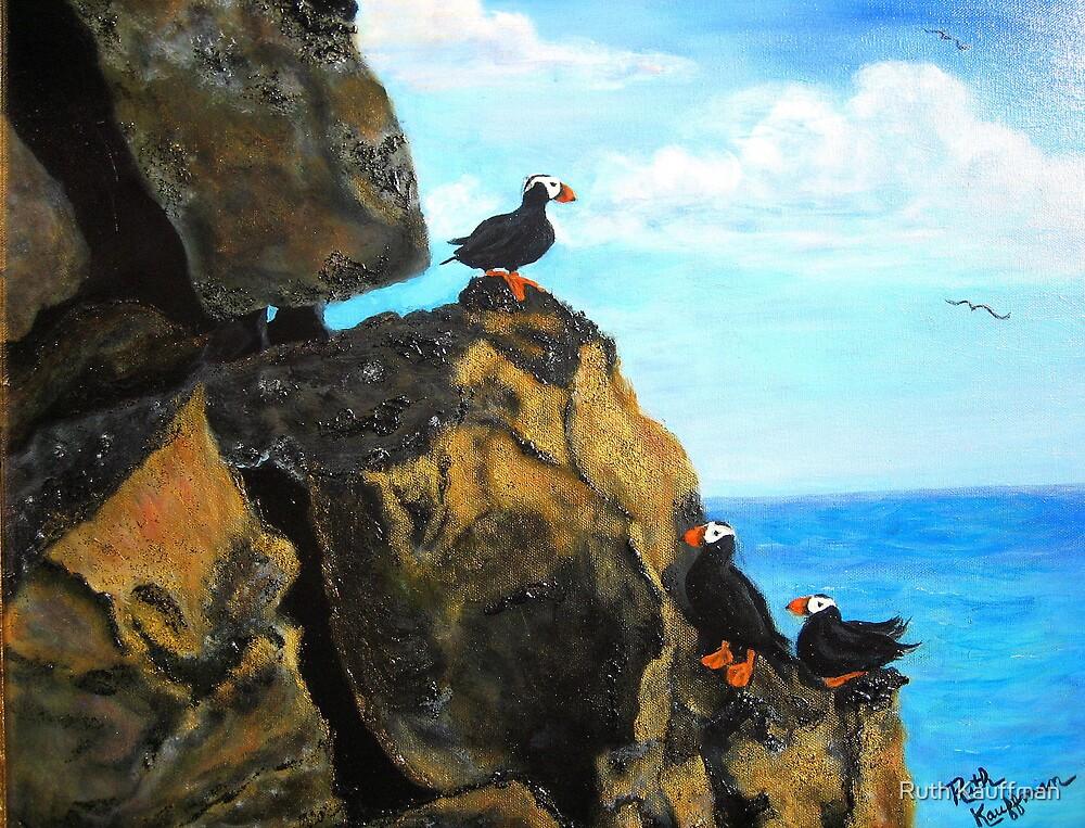 """Cliff Hangout"" by Ruth Kauffman"