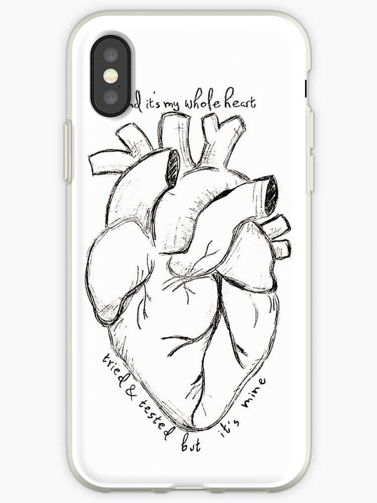 'Florence and The Machine--It's My Whole Heart' iPhone Case by  ThatLunchBxGirl
