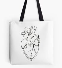 Florence and The Machine--It's My Whole Heart Tote Bag