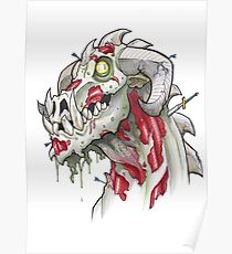 Undead Dragon Poster