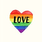 Love - Pride Rainbow by 4ogo Design