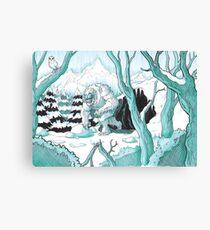 Wandering Yeti Canvas Print
