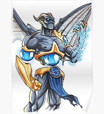 Demonic Cyborg Poster