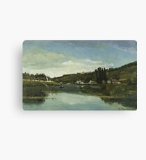 The Marne at Chennevières 1864 The Marne at Chennevières Canvas Print
