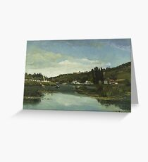 The Marne at Chennevières 1864 The Marne at Chennevières Greeting Card