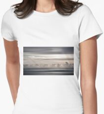 Ocean Sky Womens Fitted T-Shirt