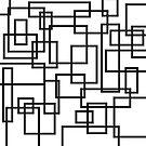 Black and White Line Art by artsandsoul